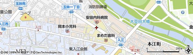 石川県金沢市大豆田本町(ハ)周辺の地図