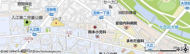 石川県金沢市玉鉾町(イ)周辺の地図