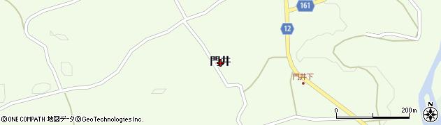 茨城県常陸大宮市門井周辺の地図