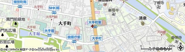 百万石通り周辺の地図
