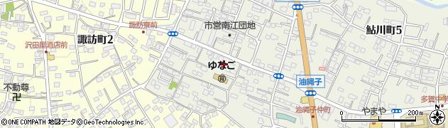 茨城県日立市鮎川町6丁目周辺の地図