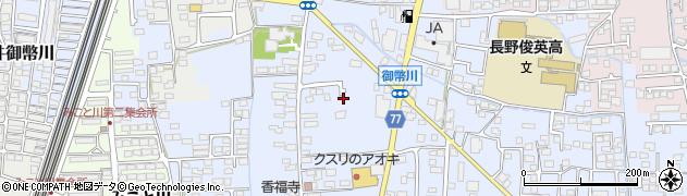 長野県長野市篠ノ井御幣川周辺の地図