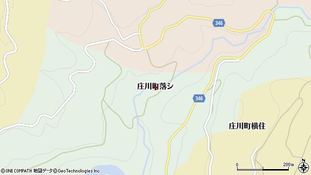 〒932-0303 富山県砺波市庄川町名ケ原の地図