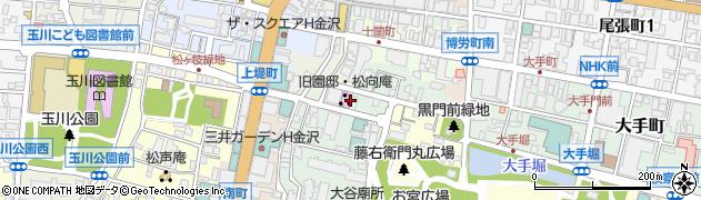 石川県金沢市西町(3番丁)周辺の地図