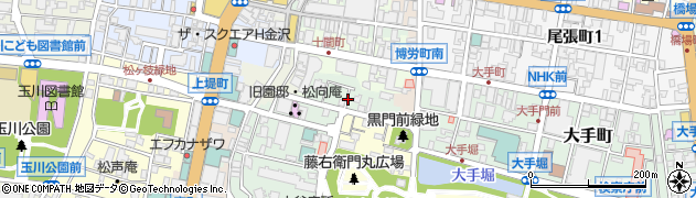 石川県金沢市西町(4番丁)周辺の地図