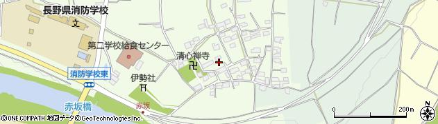 長野県長野市篠ノ井東福寺(中沢)周辺の地図