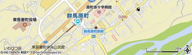 群馬県吾妻郡東吾妻町周辺の地図
