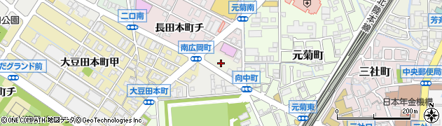 石川県金沢市南広岡町(ハ)周辺の地図