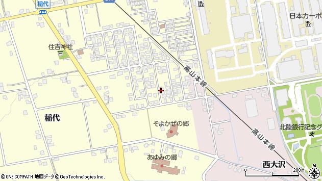 〒939-2231 富山県富山市稲代の地図