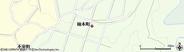 石川県金沢市柚木町周辺の地図