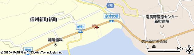 長野県長野市旭町周辺の地図