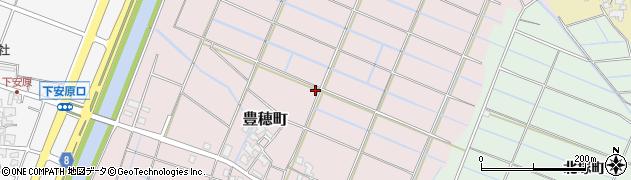 石川県金沢市豊穂町周辺の地図