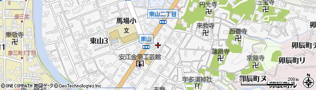 即願寺周辺の地図