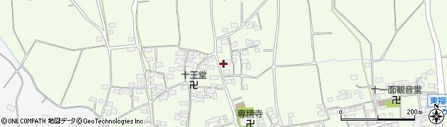 長野県長野市篠ノ井東福寺(中組)周辺の地図