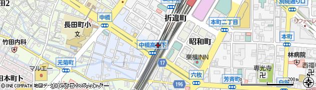 石川県金沢市日吉町周辺の地図