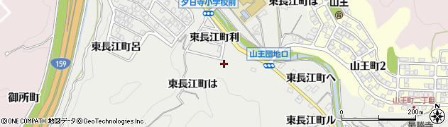 石川県金沢市東長江町(リ)周辺の地図