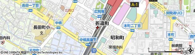 石川県金沢市広岡町(イ)周辺の地図