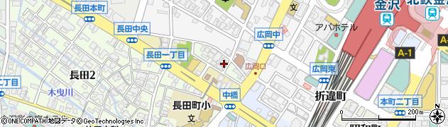 石川県金沢市醒ケ井町周辺の地図