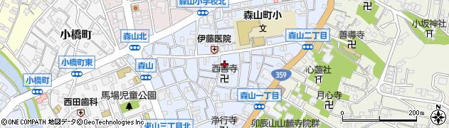 静心寺周辺の地図