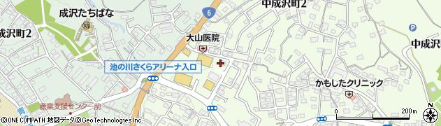 株式会社ヤマハミュージックリテイリング成沢センター周辺の地図