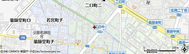 二口八幡神社周辺の地図
