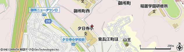 石川県金沢市御所町(ニ)周辺の地図