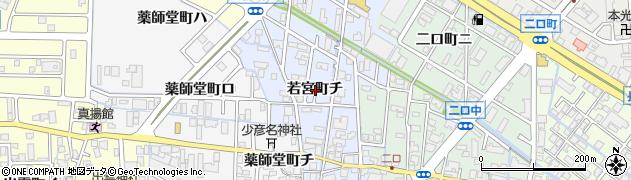 石川県金沢市若宮町(チ)周辺の地図