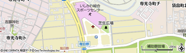 石川県金沢市稚日野町(北)周辺の地図