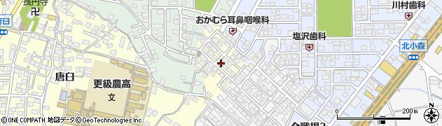 長野県長野市篠ノ井布施高田(里島団地)周辺の地図
