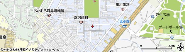 長野県長野市合戦場周辺の地図