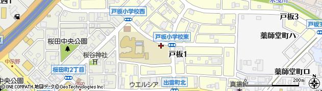 石川県金沢市出雲町(ニ)周辺の地図
