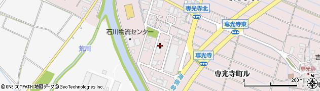 石川県金沢市専光寺町(ヲ)周辺の地図