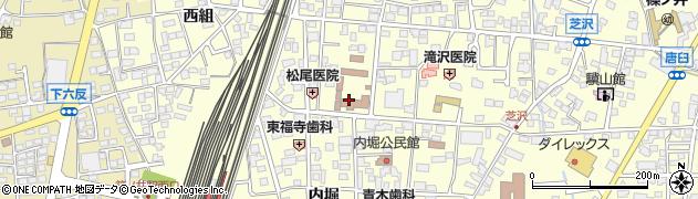 長野県長野市篠ノ井布施高田周辺の地図