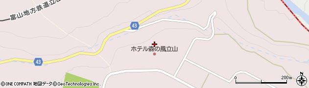 富山県富山市花切割周辺の地図