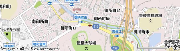 石川県金沢市御所町(ト)周辺の地図