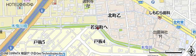 石川県金沢市若宮町(ヘ)周辺の地図