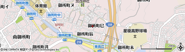 石川県金沢市御所町(巳)周辺の地図