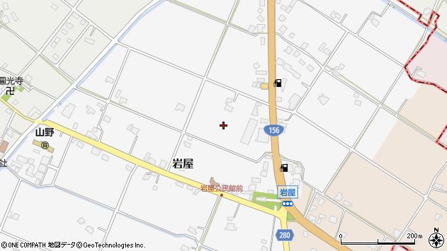 〒932-0203 富山県南砺市岩屋の地図