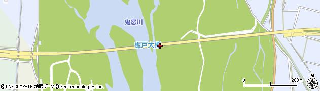 板戸大橋周辺の地図