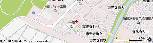石川県金沢市専光寺町(そ)周辺の地図
