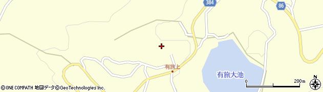 長野県長野市篠ノ井有旅(上有旅)周辺の地図