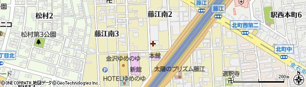 石川県金沢市藤江南周辺の地図
