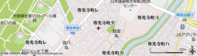 石川県金沢市専光寺町(タ)周辺の地図