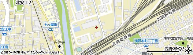 石川県金沢市浅野本町周辺の地図