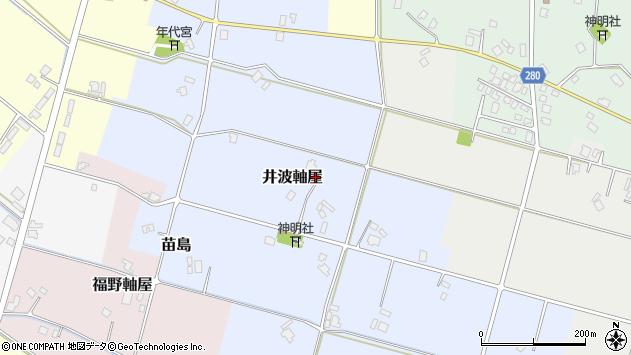 〒932-0205 富山県南砺市井波軸屋の地図