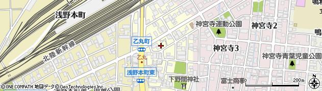 石川県金沢市乙丸町(甲)周辺の地図