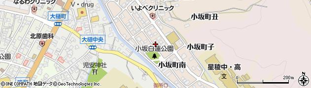 石川県金沢市小坂町(南)周辺の地図