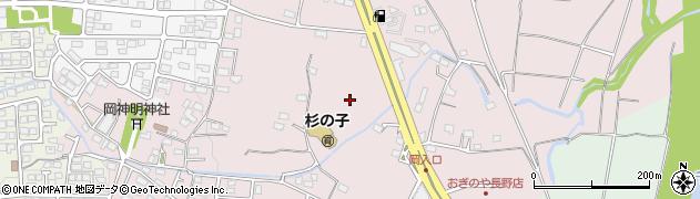 長野県長野市篠ノ井西寺尾周辺の地図