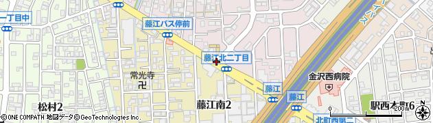 藤江北2周辺の地図