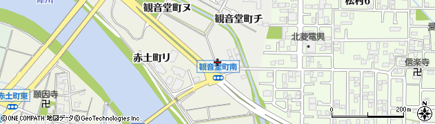 石川県金沢市観音堂町(リ)周辺の地図